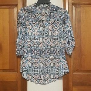 Express Patterned Portofino Shirt